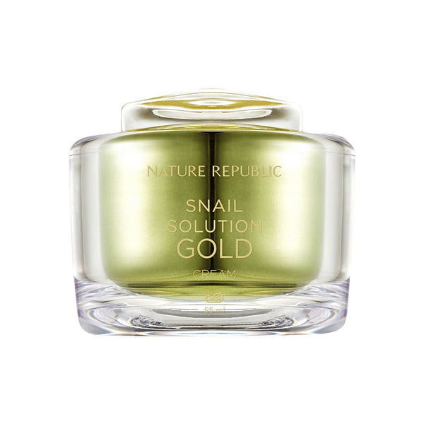 [Nature Republic] Snail Solution Gold Cream 55ml