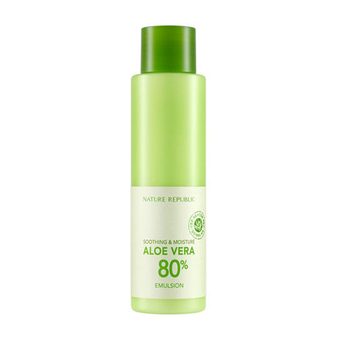 [Nature Republic] Soothing & Moisture Aloebera 80% Emulsion - Cosmetic Love