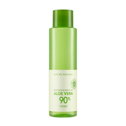 [Nature Republic] Soothing & Nature Aloebera 90% Toner - Cosmetic Love