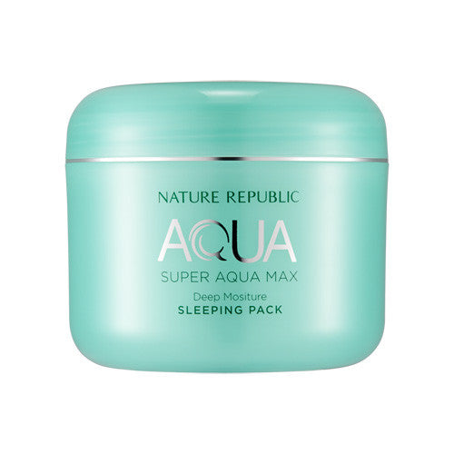 [Nature Republic] Super Aqua Max Deep Moisture Sleeping Pack 100ml - Cosmetic Love