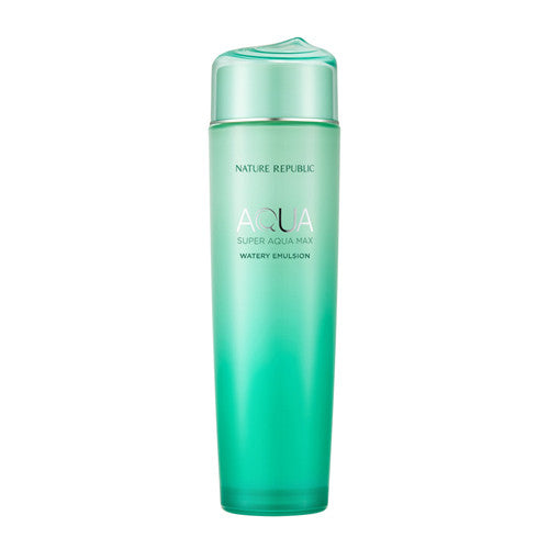 [Nature Republic] Super Aqua Max Watery Emulsion 150ml - Cosmetic Love