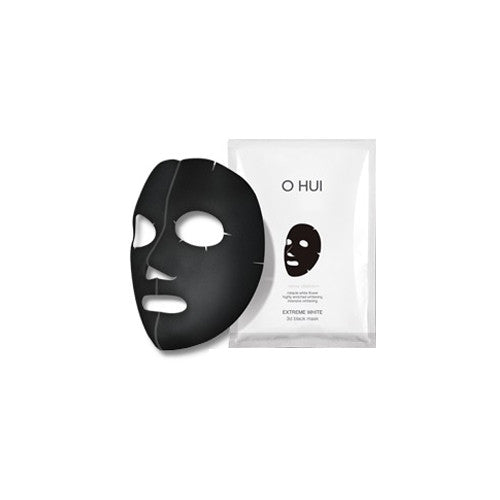 [O HUI] Extreme White 3D Black Mask 1EA - Cosmetic Love