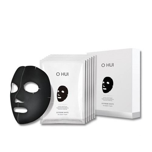 [O HUI] Extreme White 3D Black Mask 6EA - Cosmetic Love