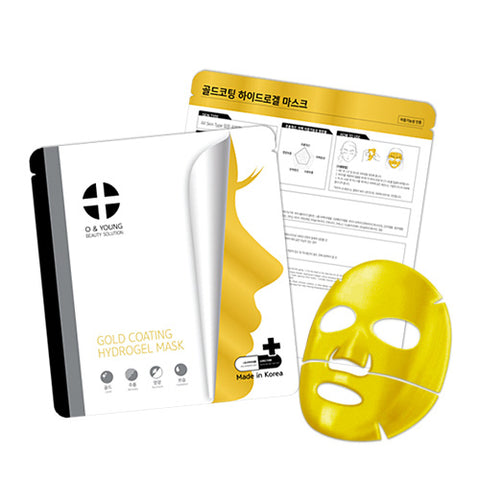[O&YOUNG] Gold Coating Hydrogel Mask (5ea)
