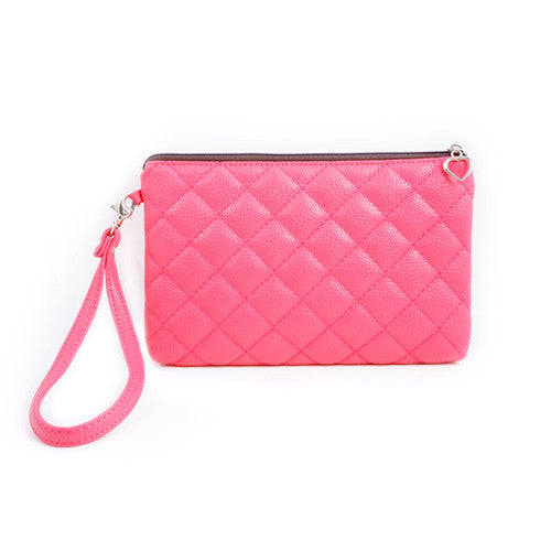[Accessories] Pink Pouch 20cm x 13.5cm - Cosmetic Love