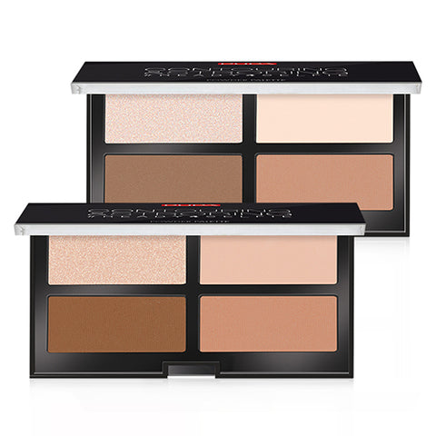 [PUPA] Countouring Strobing #Redy 4 Selfie Palette 17.5g