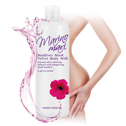 [Pioom] Marino Marie Maldives Musk Velvet Body Milk 200ml - Cosmetic Love