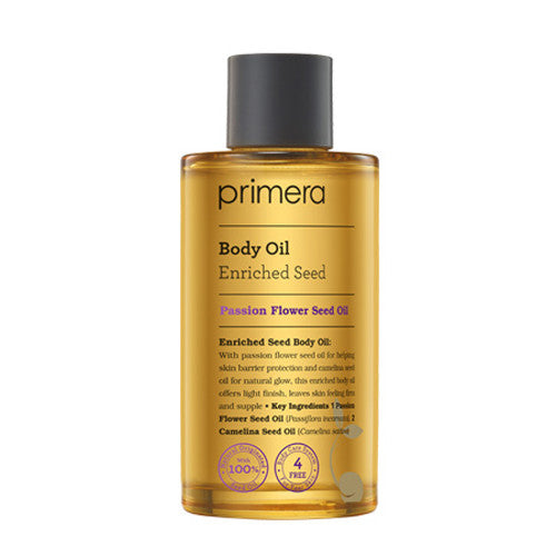 [Primera] Enriched Seed Body Oil 110ml - Cosmetic Love
