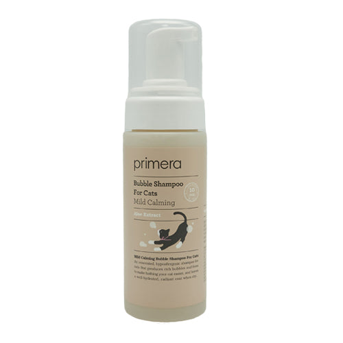 [Primera] Mild Calming Bubble Shampoo For Cats 150ml