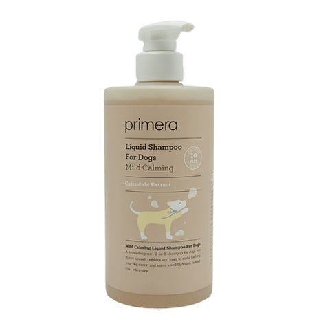 [Primera] Mild Calming Liquid Shampoo For Dogs 380ml