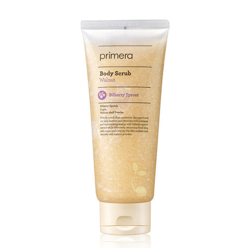[Primera] Walnut Body Scrub 200ml - Cosmetic Love
