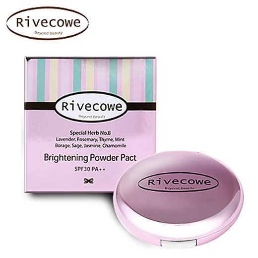[Rivecowe] Brightening Powder Pact - Cosmetic Love