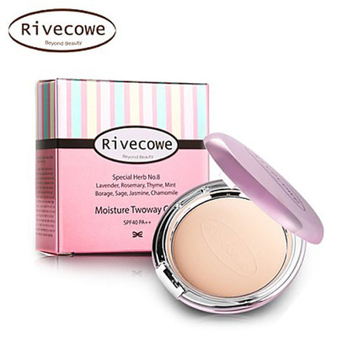 [Rivecowe] Moisture Twoway Cake - Cosmetic Love