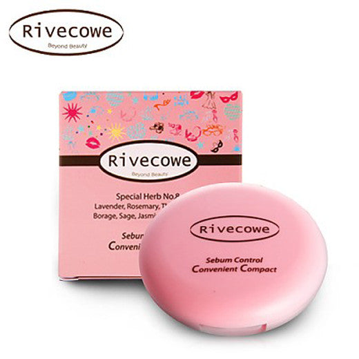 [Rivecowe] Sebum C.C Pact - Cosmetic Love