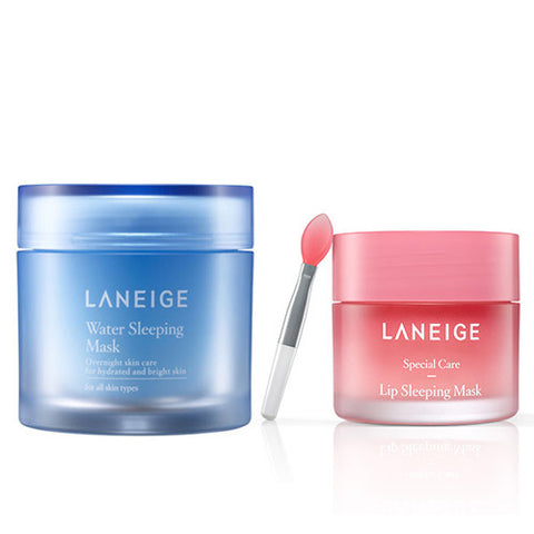 [SET] [Laneige] Water Sleeping Mask 70ml + Lip Sleeping Mask 20g - Cosmetic Love