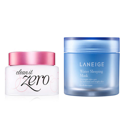 [SET] [Laneige] Water Sleeping Mask 70ml + [Banila Co] Clean It Zero 100ml - Cosmetic Love