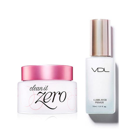 [SET] [VDL] Lumilayer Primer 30ml + [Banila Co] Clean It Zero #Clean It Zero 100ml - Cosmetic Love