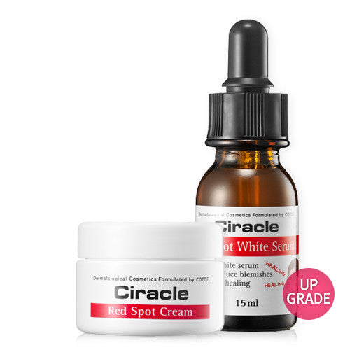 [SET] [Ciracle] Red Spot White Serum 15ml + Red Spot Cream 30ml - Cosmetic Love