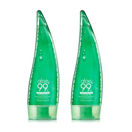 [SET][Holika Holika] Aloe 99% Soothing Gel Fresh 250mlx2ea