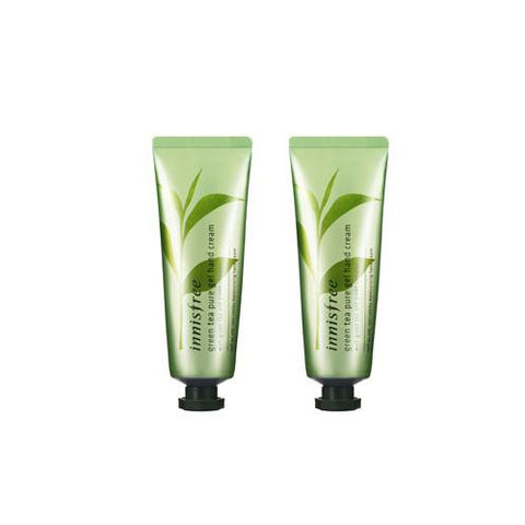 [Innisfree] Green Tea Pure Gel Hand Cream x 2PCS