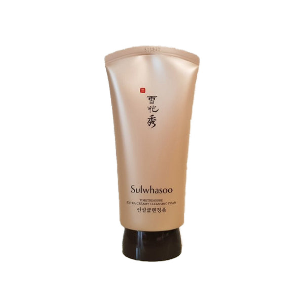 [Sulwhasoo] Timetreasure Extra Creamy Cleansing Foam 120ml - Cosmetic Love