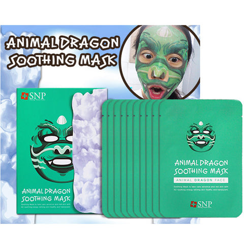 [SNP] Animal Dragon Soothing Mask 25ml * 10ea - Cosmetic Love