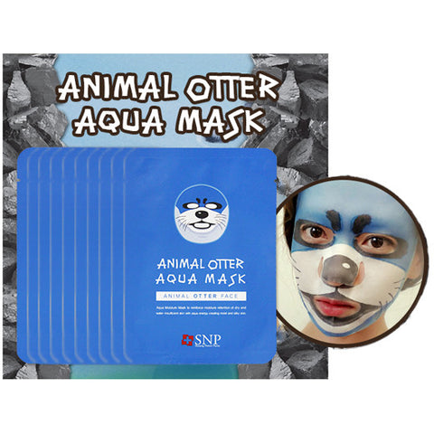 [SNP] Animal Otter Aqua Mask 25ml * 10ea - Cosmetic Love