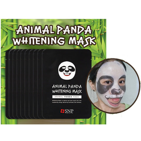 [SNP] Animal Panda Whitening Mask 25ml * 10ea - Cosmetic Love