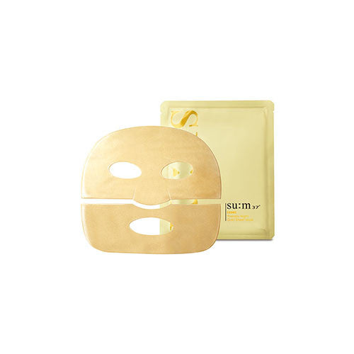 [SUM37] Losec Therapy Night Gold Sheet Mask - Cosmetic Love