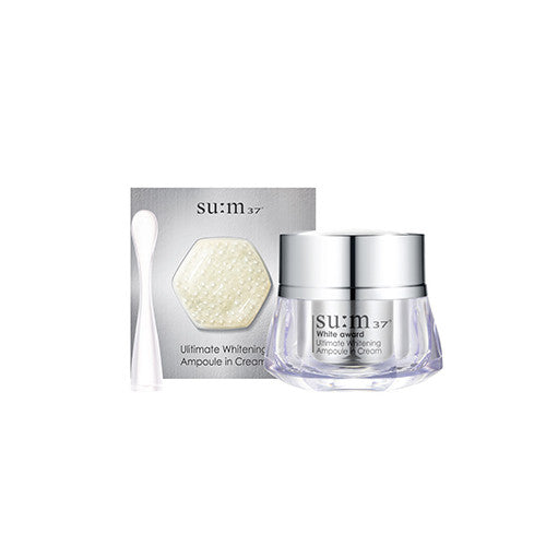 [SUM37] White Award Ultimate Whitening Ampoule in Cream - Cosmetic Love