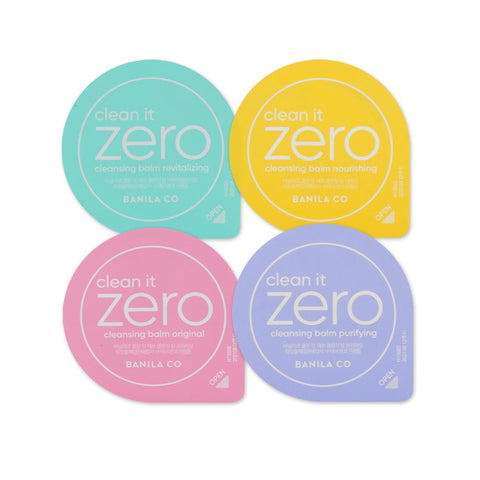 [Sample] [Banila Co] Clean It Zero Cleansing Balm Set (4 Items)