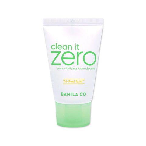 [Sample] [Banila Co] Clean It Zero Pore Clarifying Foam Cleanser 30ml