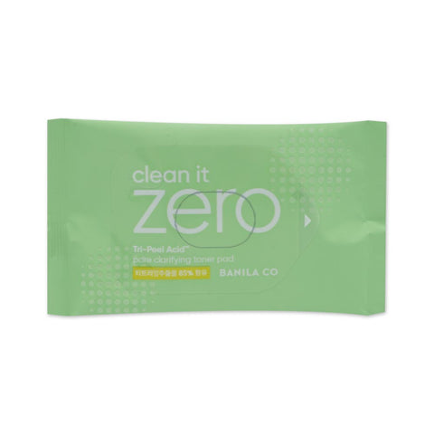 [Sample] [Banila Co] Clean It Zero Pore Clarifying Toner Pad 10EA