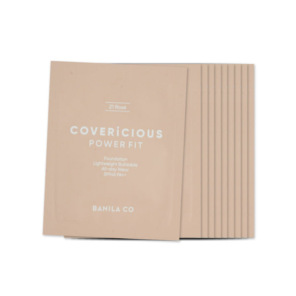 [Sample] [Banila Co] Covericious Power Fit Foundation #21 Rose x 10PCS