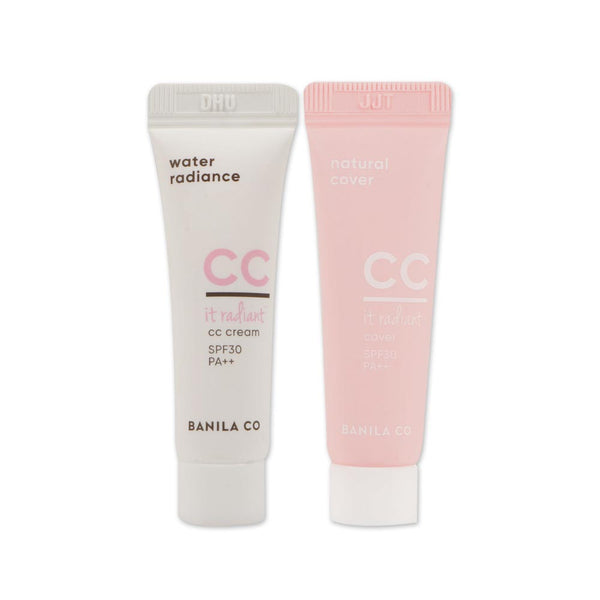 [Sample] [Banila Co] It Radiant CC Cover Light Beige 5ml & CC Cream 5ml Set