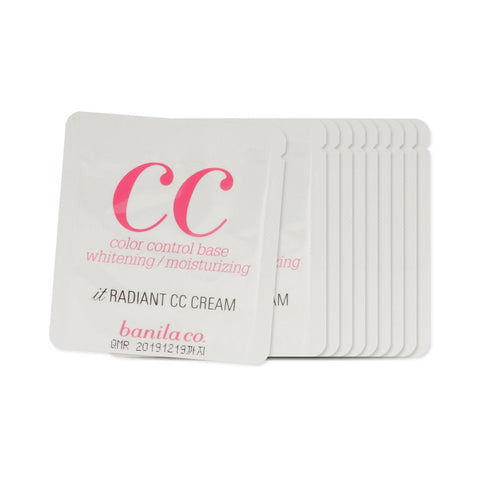 [Sample] [Banila Co] It Radiant CC Cream x 10PCS - Cosmetic Love