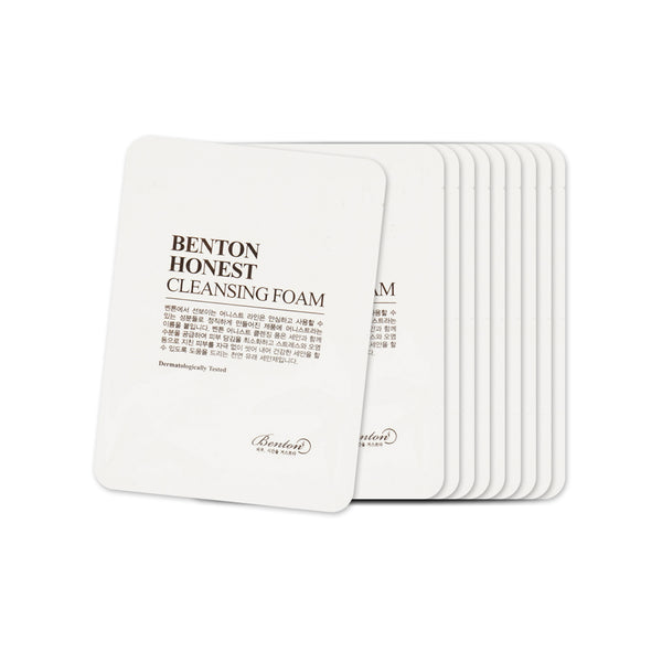 [Sample] [Benton] Honest Cleansing Foam x 10PCS