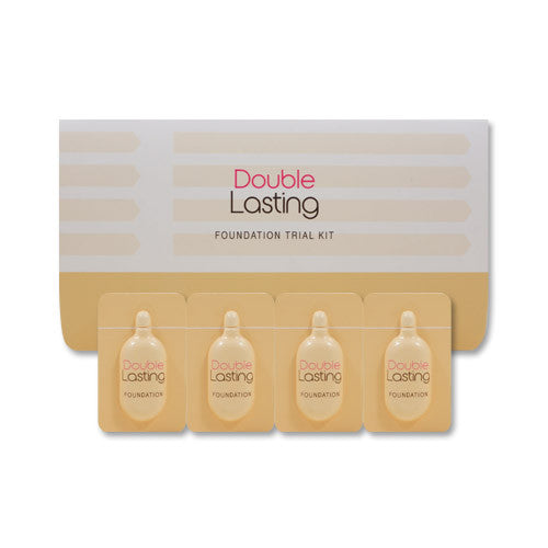 [Sample] [Etude House] Double Lasting Foundation Trial Kit #Fair & Vanilla & Beige & Sand - Cosmetic Love