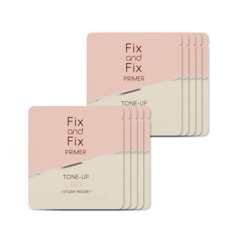[Sample] [Etude House] Fix & Fix Tone Up Primer #01 Rose x 10PCS