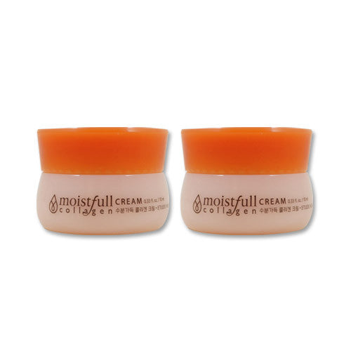 [Sample] [Etude House] Moistfull Collagen Cream 10ml x 2PCS - Cosmetic Love