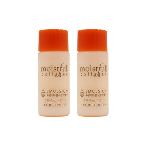 [Sample] [Etude House] Moistfull Collagen Emulsion 15ml x 2PCS - Cosmetic Love
