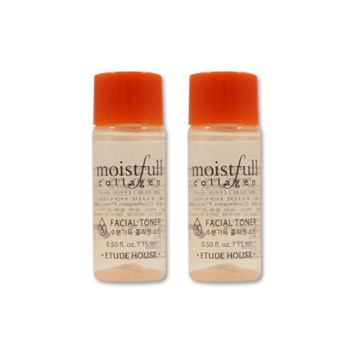 [Sample] [Etude House] Moistfull Collagen Skin 15ml x 2PCS - Cosmetic Love