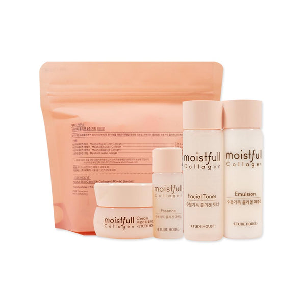 [Sample] [Etude House] New Moistfull Collagen Skin Care Set