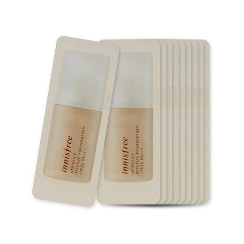 [Sample] [Innisfree] Ampoule Intense Foundation SPF35 PA+++ #21 x 10PCS - Cosmetic Love