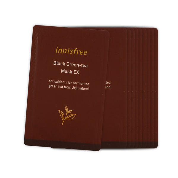 [Sample] [Innisfree] Black Geen-tea Mask EX x 10PCS