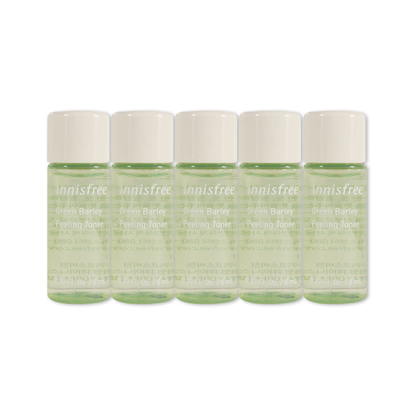 [Sample] [Innisfree] Green Barley Peeling Toner x 5PCS