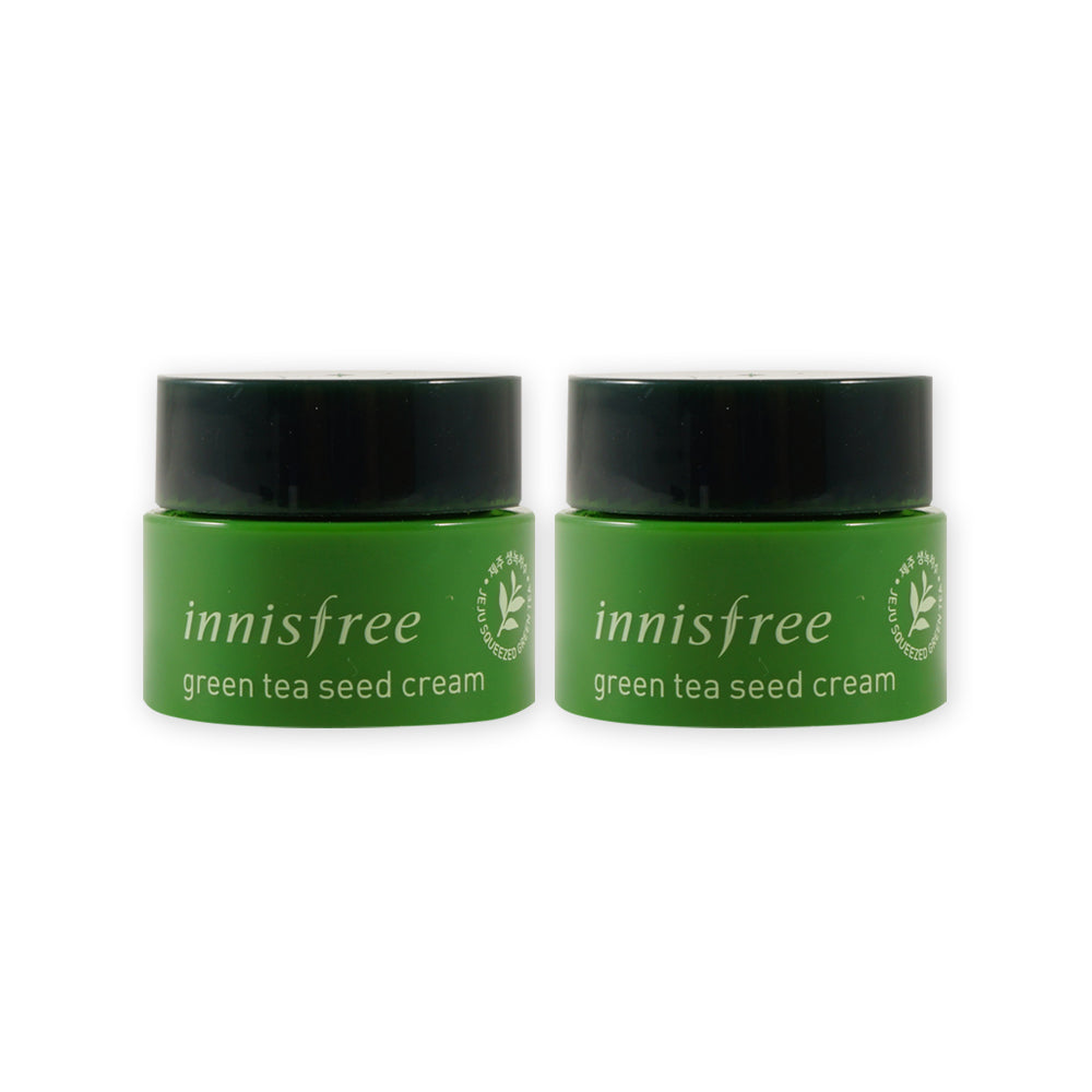 Sample Innisfree Green Tea Seed Cream X 2pcssample Balancing Special Kit 4 Items 2pcs