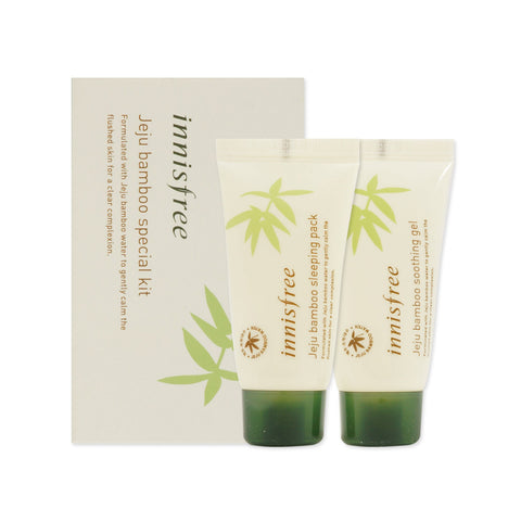 [Sample] [Innisfree] Jeju Bamboo Special Kit (2 Items) - Cosmetic Love