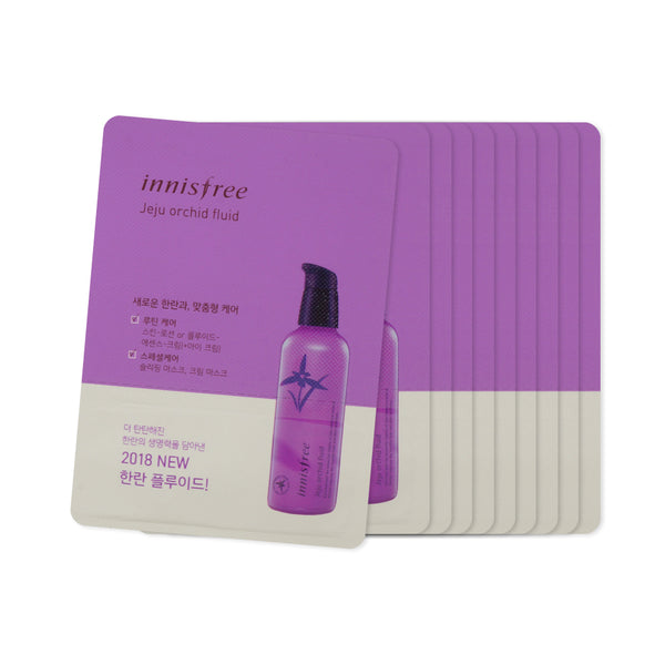 [Sample] [Innisfree] Jeju Orchid Fluid x 10PCS
