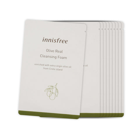 [Sample] [Innisfree] Olive Real Cleansing Foam x 10PCS